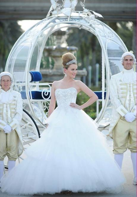If you are one of these bridestobe desire to have a fairytale wedding