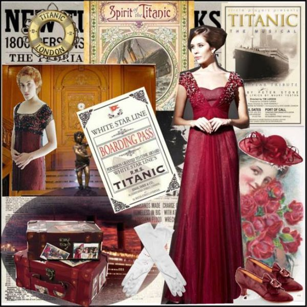Fashion Inspired by Titanic: 3 Attractive Formal Dresses ...