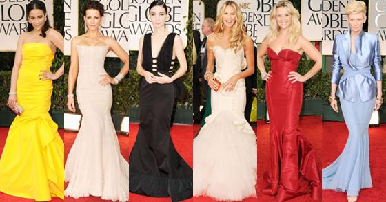 Prom Dresses 2012 Trends from the Golden Globes Red Carpet ...