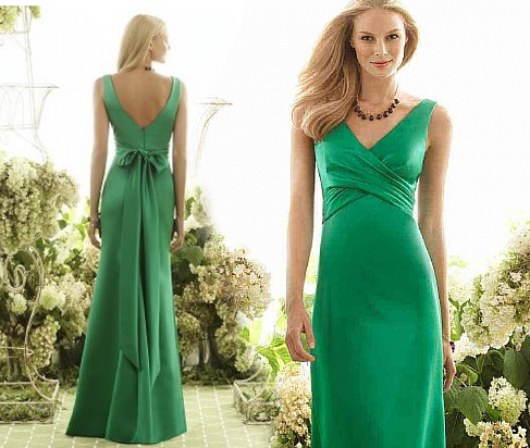 Would You Wear Green Bridesmaid Dresses? - DressilyMe's blog