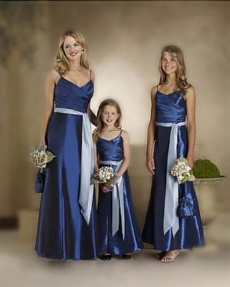 Royal Blue And Silver Wedding Dresses - Missy Dress