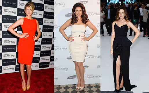 Kate Upton, Kelly Brook, Kate Beckinsale