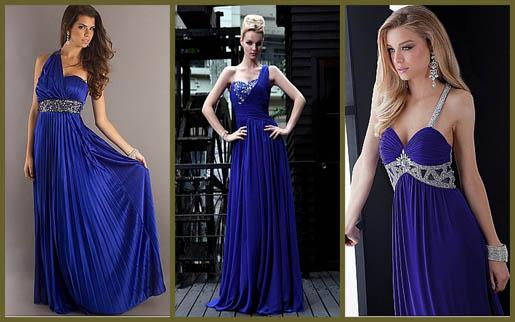 Cobalt Color Dress Cobalt Blue Evening Dresses