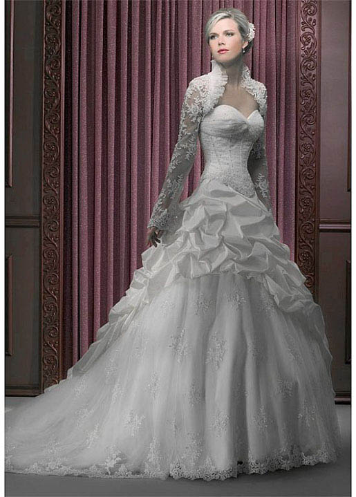Wedding Dresses  Elegant : The dress of today elegant sweetheart wedding dressilyme s