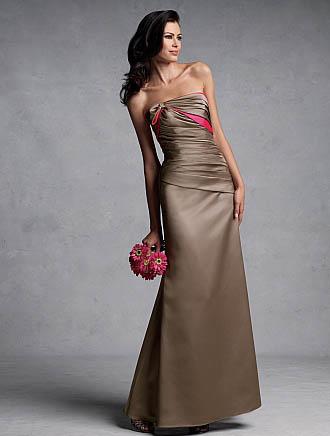 Chocolate Bridesmaid Dresses for Winter Wedding - DressilyMe's blog