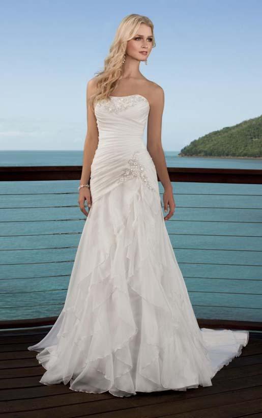 Chiffon Beach Wedding Dresses - Wedding Dress Ideas